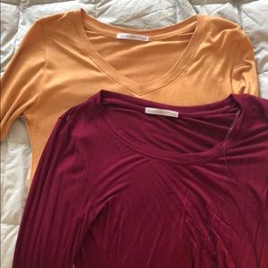 Active Basic Long Sleeve Tee pack (includes two)
